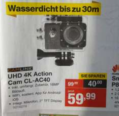 UHD 4k Action Cam CL-AC40 bei Staples