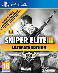 [Amazon] Sniper Elite 3 - Ultimate Edition (PS4) für ca. 21€