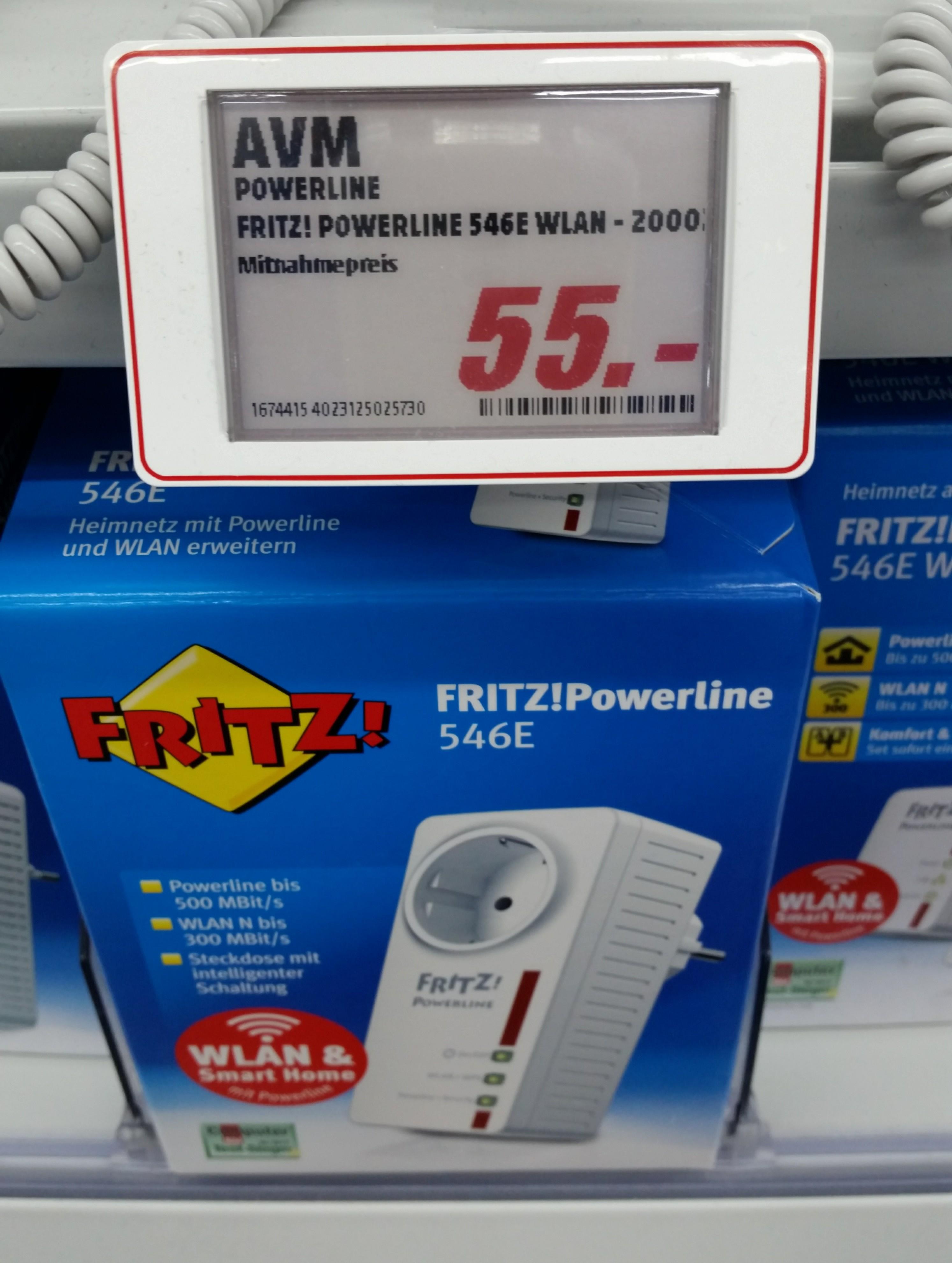 AVM FRITZ!Powerline 546E Media Markt Neumarkt 30% unter Idealo