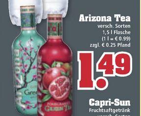[Trinkgut] ab 27.03.2017 - Arizona Iced Tea 1,5L für 1,49€ (+0,25€ Pfand)