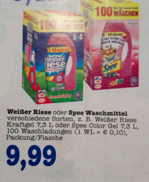 weißer Riese oder Spee Gel (100WL) 9,99 bei Edeka Offenbach (lokal?)