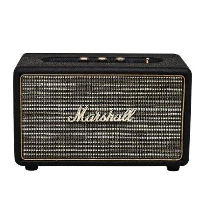 [Amazon - Vorbestellung oder Conrad] Marshall Acton 04091800 Bluetooth Lautsprecher (3,5 mm Eingang) Schwarz + 24er Set AA Batterien Gratis