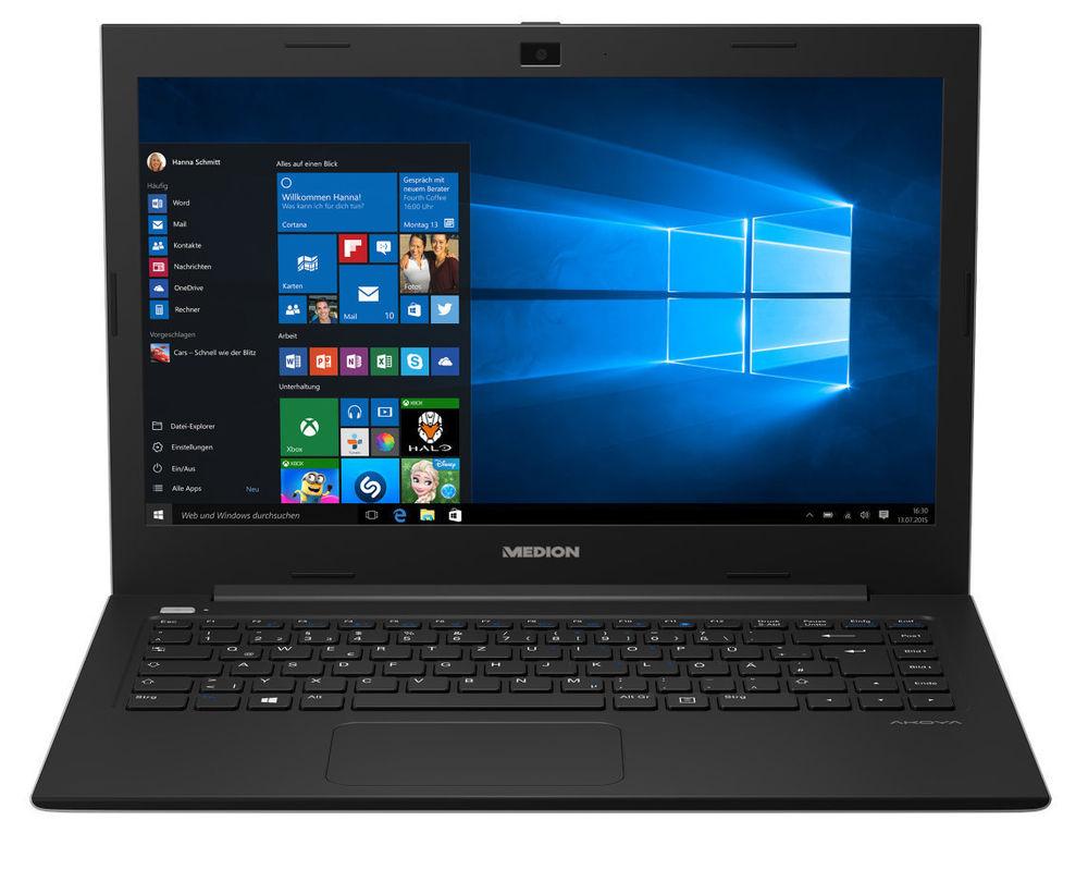 """MEDION AKOYA S4220 MD 99820 Notebook 35,6cm/14"""" Full HD Intel 500GB 2GB Win 10 - B-Ware"""