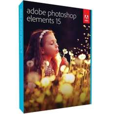 Rakuten Angebot: Adobe Photoshop Elements 15.0, Vollversion, Deutsch, Windows/Mac, Download-Software