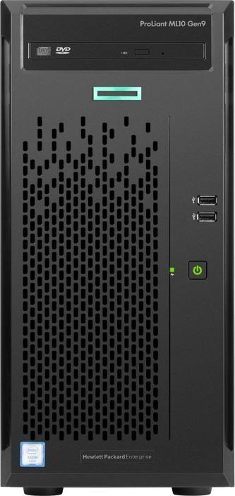 HP ML10 Gen9 Server | Intel Xeon E3-1225v5 4x3,3/3,7Ghz | 8GB(64max)-ECC-RAM (alternative zu Poweredge T20)