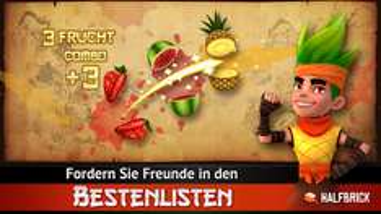 [Android] Fruit Ninja (kostenpflichtige Version) für 0,10€ @ Google Play