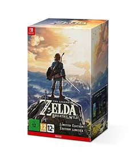 [Amazon] Zelda Breath of the Wild - Limited Edition Nintendo Switch - Lieferbar ab 10.04.17