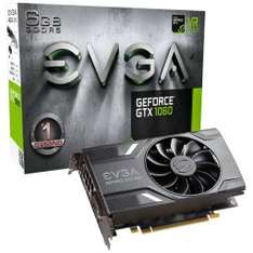EVGA Geforce GTX 1060 Gaming mit 6GB (mit 3 Jahren Garantie) + For Honor / Ghost Recon für 242,99€ [Caseking]