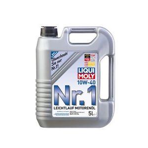 """[toom - Baumarkt] 5 Liter LIQUI-MOLY Leichtlauf-Motorenöl """"Nr.1 10W-40"""" für 14,99 Euro"""