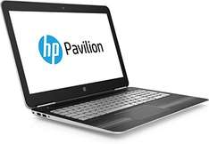 [Amazon] HP Pavilion (15-bc203ng) 39,6 cm (15,6 Zoll / Full-HD IPS) Notebook (Intel Core i7-7700HQ, 16 GB RAM, 512 GB SSD, NVIDIA GeForce GTX 1050, Windows 10 Home 64) in schwarz/silber