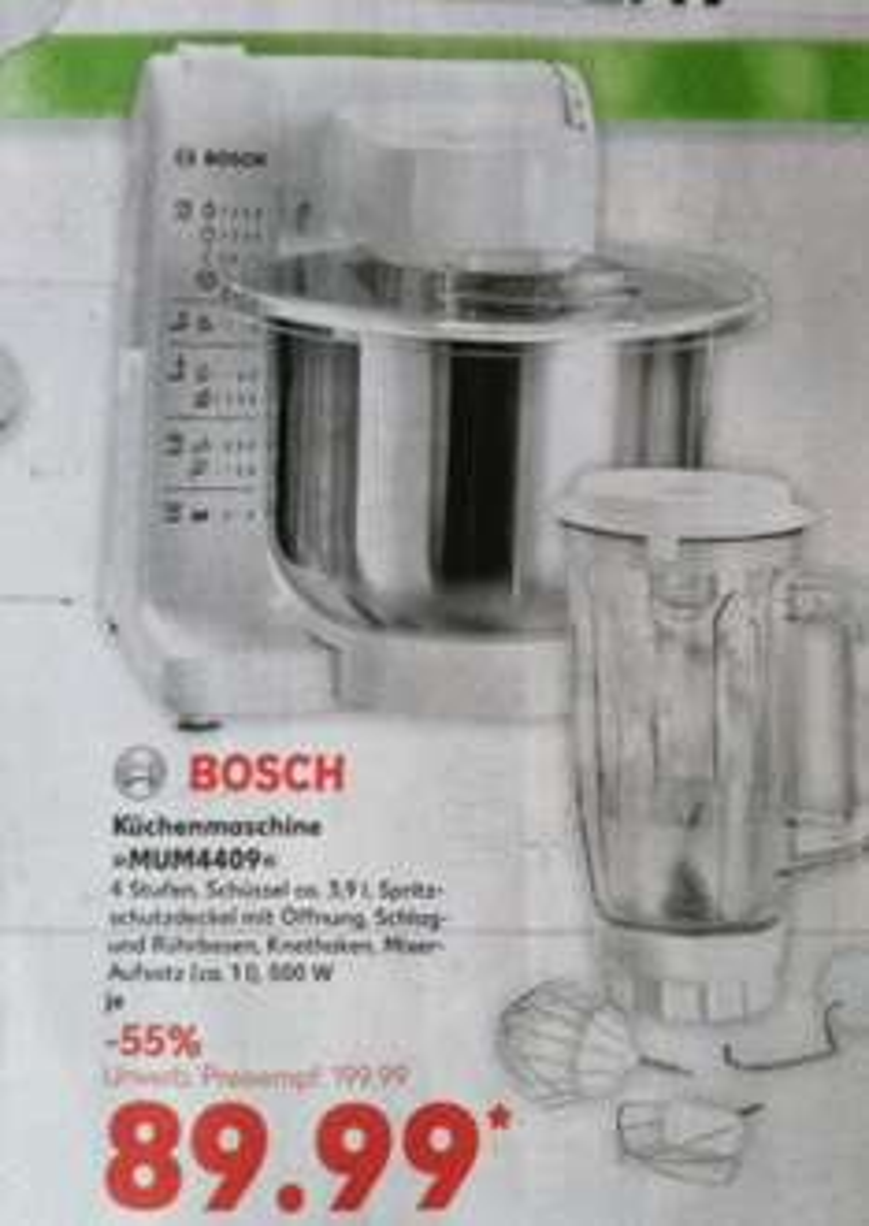 """Bosch Küchenmaschine """"MUM4409"""""""
