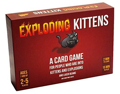 Exploding Kittens - Gesellschaftsspiel