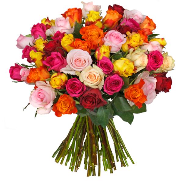 44 Rosen XXL-Special (50cm länge) -> 19,99 € statt 43,99 € + 4,95 € Versand @Blumeideal