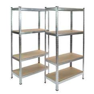"Steckregal ""Twin"" 8 Böden je 65 kg 160x160x40 cm"
