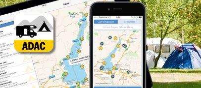 [Android / iOS] ADAC Camping- und Stellplatzführer 2017 App inkl. ADAC CampCard 2017 für 4,99 € statt 8,99 €