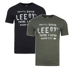 2er Pack Lee Crew Neck T-Shirts im Twinpack aus reiner Baumwolle für 14,99€ statt ca. 25€ @eBay