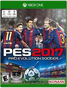 Pro Evolution Soccer 2017 (PES 2017) für Xbox One & Playstation 4 (inkl. Barca-Edition) ab 20,19€ [VSK-frei]