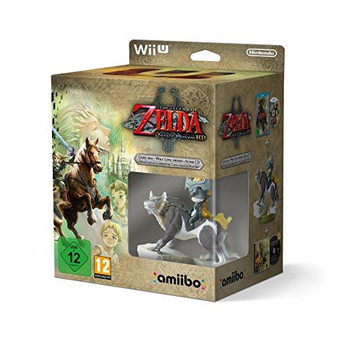 [Amazon IT] Zelda: Twilight Princess HD - Special Edition amiibo botw Wolf Link
