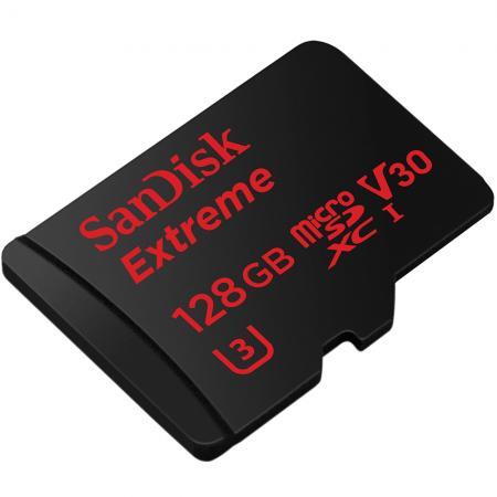 Sandisk Extreme 128GB microSDXC v30 Class 10 / U3 (R.: 90MB/s & W.: 60MB/s) für 56,98€ [Redcoon]