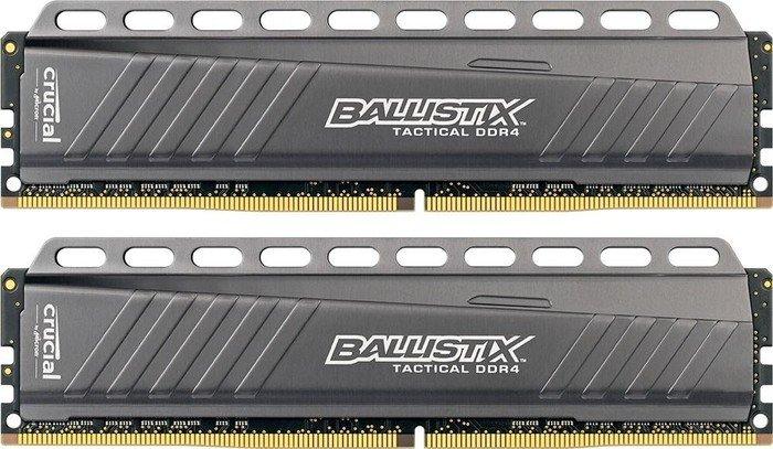Crucial Ballistix Tactical DIMM Kit 16GB (2x 8GB) DDR4-2666 für 76,99€ [Amazon]