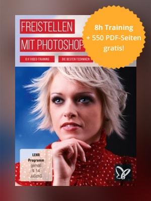 Freistellen mit Photoshop - statt ca. 34 EUR kostenlos!
