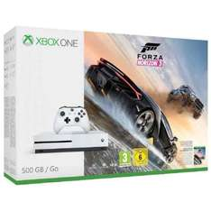 XBOX ONE S 500GB + Forza Horizon 3 Bundle