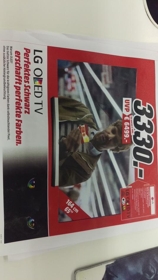 LG OLED TV 65C6 D FÜR 3.330€ FREITAGSDEAL