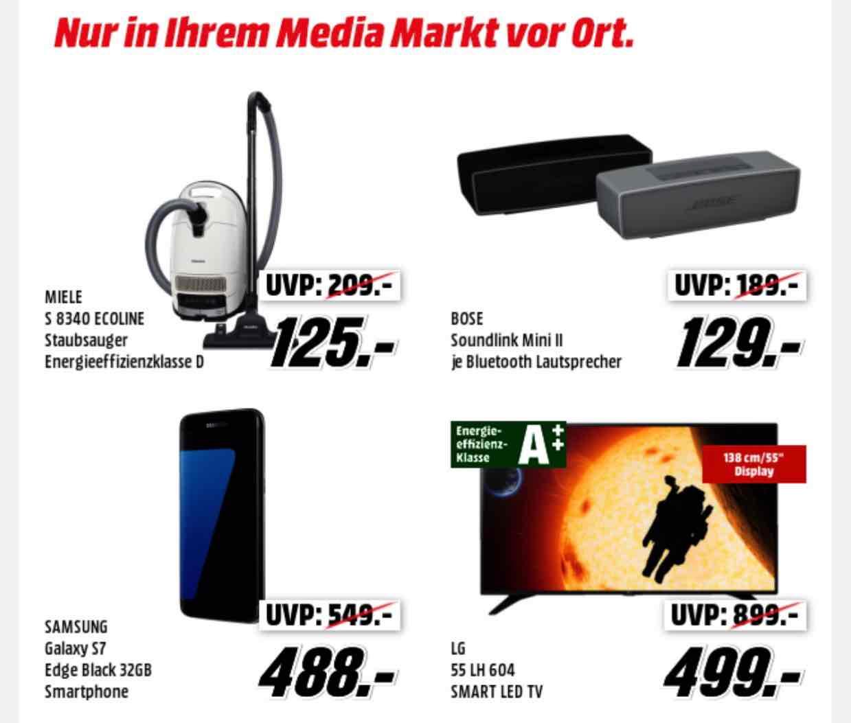 Lokal [ Media Märke Hamburg ] Bose Soundlink Mini ll für 129€