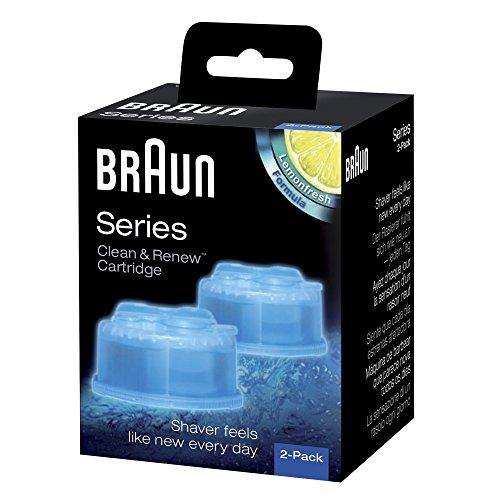 [amazon] Braun clean & charge CCR Reinigungskartuschen für Braun Series 3-9, 2 Stück für 4,99€