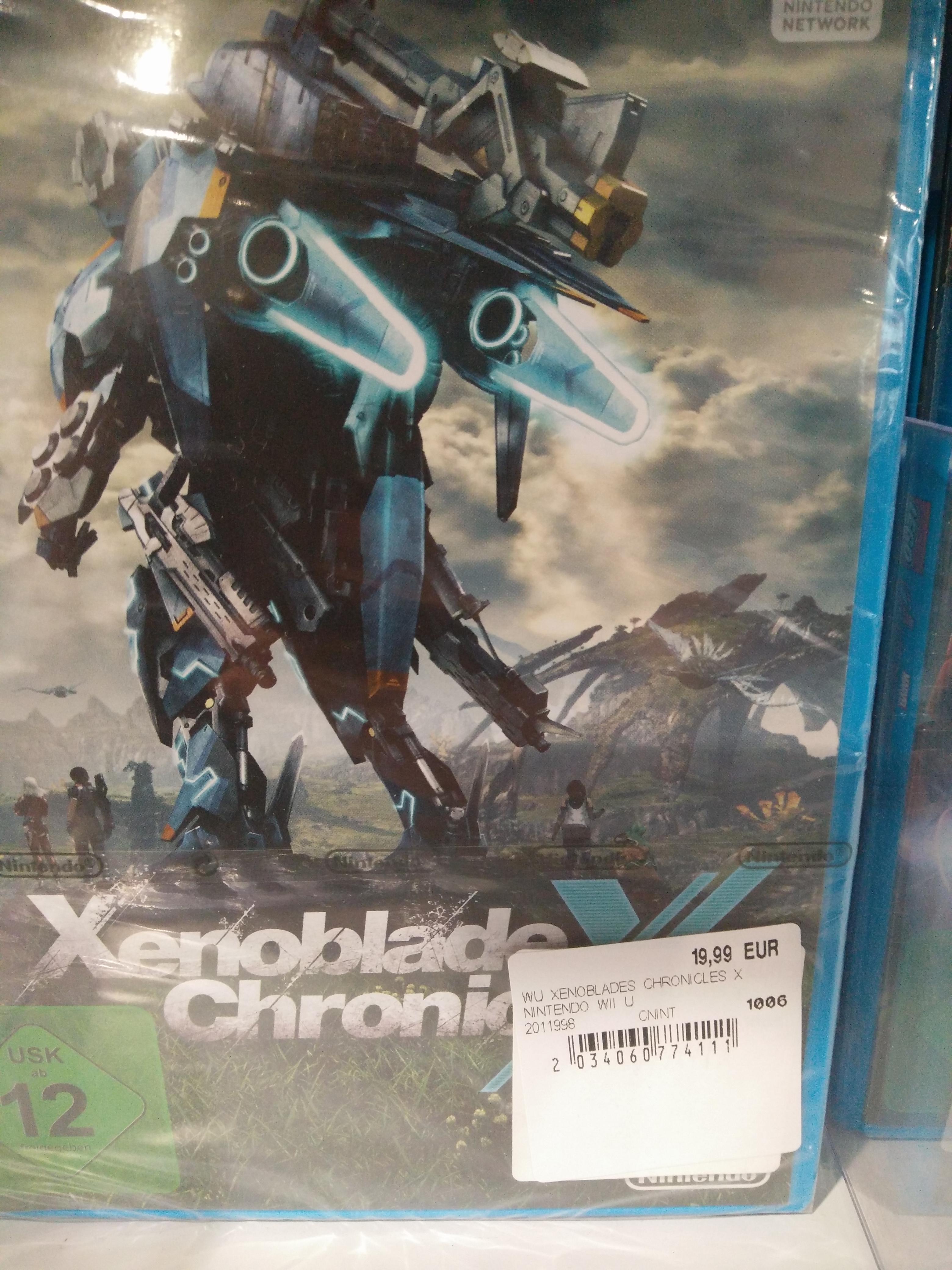 [Lokal] Xenonlade Chronicles X für Wii U bei Media Markt Rosenheim