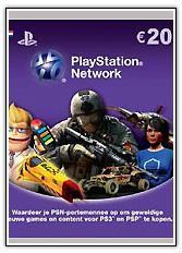 PlayStation Network Card - 20 Euro (PS4/PS3/DE)