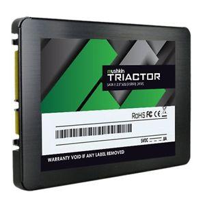 """[ebay / hmcw] Mushkin Triactor 480GB - Solid State Drives (SSD) (Schwarz, Grün, Serial ATA III, 0 - 70 °C, 2.5"""", Schockresistent, SMI - SM2256)"""