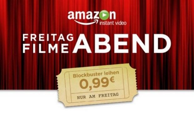 Freitag Filme Abend - 12 Filme für je 0,99€ leihen [@Amazon]