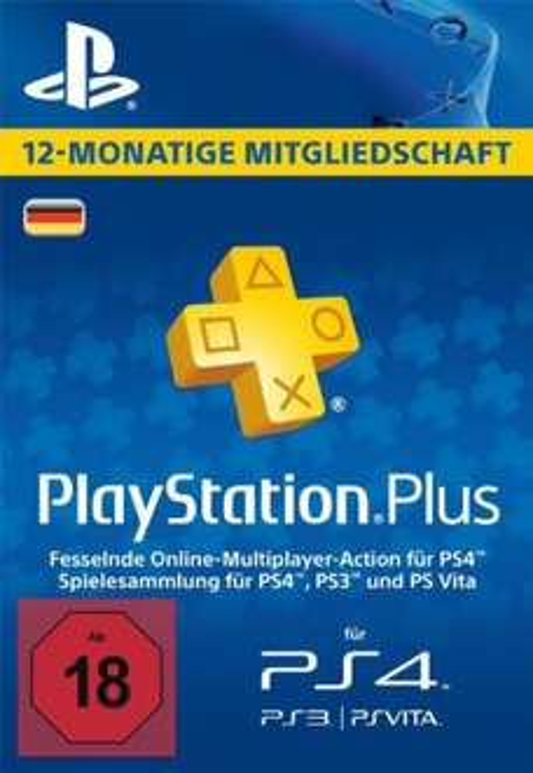 Playstation Plus 365 Tage DE 36,04€ bei Sofortüberweisung @kinguin