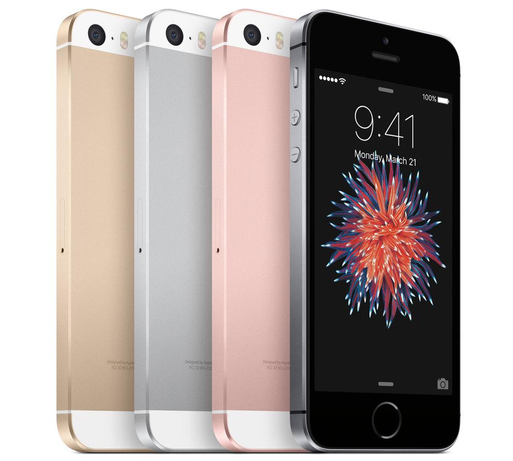 """(eBay) Apple iPhone SE 64GB in gold, rose und silber mit shoop für 341,94€ """"Zustand: Neuwertig"""""""