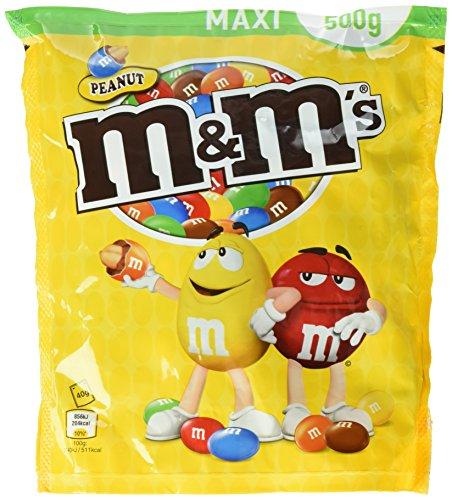 M&M's Peanut, 4 Beutel (4 x 500 g) - 7€/Kg [Amazon Prime]
