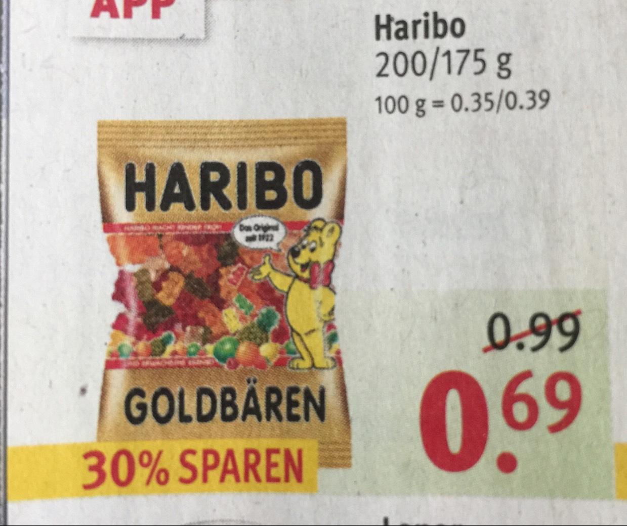 Haribo Fruchtgummi für 0,69€ [Rossmann]
