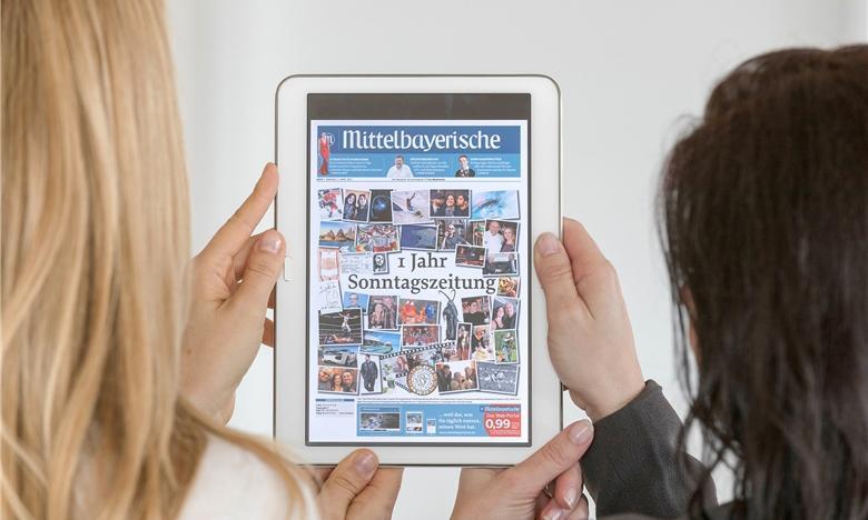 Die Mittelbayerische Sonntagszeitung morgen kostenlos als E-Paper verfügbar