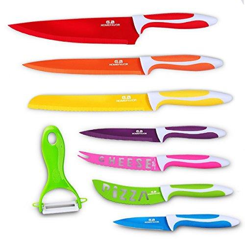 7-teiliges Küchenmesser