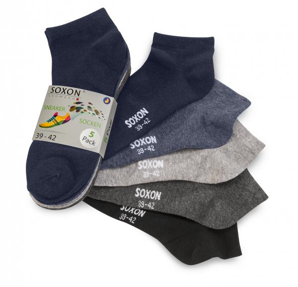Gratis 5er Pack Socken (39/42 oder 43/46) @sonox