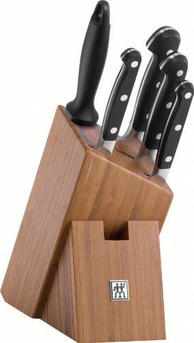 Zwilling Pro Messerblock Bambus 6 tlg. (384360000) für 146,03€ [amazon.fr]