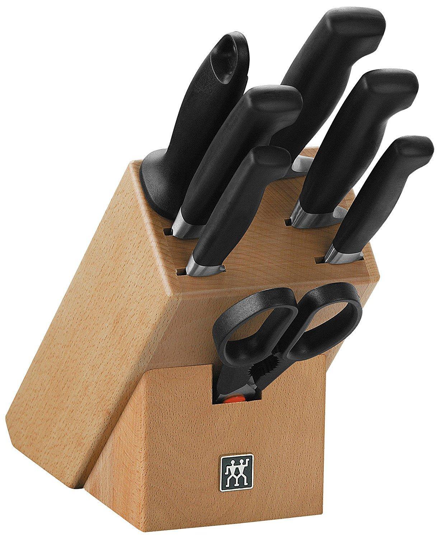 [Amazon] Zwilling - Vier Sterne Messerblock, 8 tlg. für 109,99€ / Besteckset Nottingham 68 tlg. für 99,99€ / Steakbesteckset 12 tlg. für 29,99€