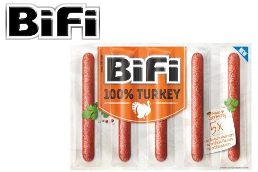 BiFi 100% Turkey (5x20g) - gratis testen über Scondoo