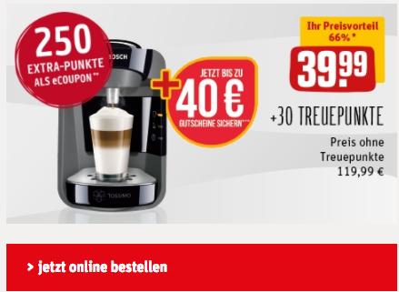 Tassimo für nur 39,99€ statt 57€ beim Rewe