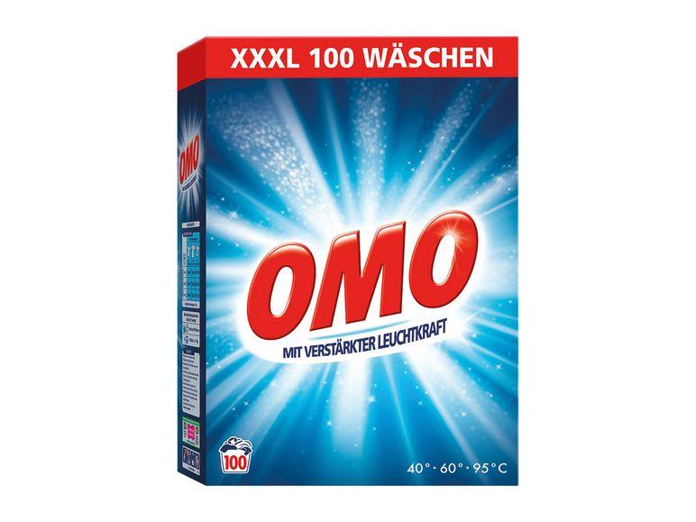 OMO XXXL Vollwaschpulver 7Kg, 100 Wäschen, WL = 10 Cent im Lidl für 9,99 €