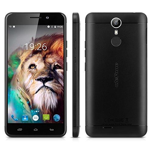 Ulefone Metal 5.0 Zoll 4G-LTE-Smartphone Android 6.0 Octa Core Dual SIM 3GB RAM+16GB ROM 8.0MP + 2.0MP Front Dual Kamera Handy ohne Vertrag Smart Wake Touch ID 3050mAh Batterie OTG