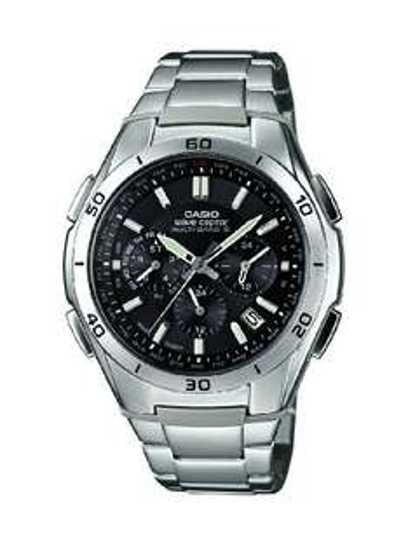 [Amazon Prime] Casio Herren-Armbanduhr XL Wave Ceptor Analog Quarz Edelstahl WVQ-M410DE-1A2ER Funk/Solar für 88,46€