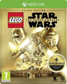 LEGO Star Wars: The Force Awakens Deluxe inkl. Steelbook Edition + Season Pass (Xbox One & PS4) für 25,65€ inkl. VSK (Amazon.co.uk)