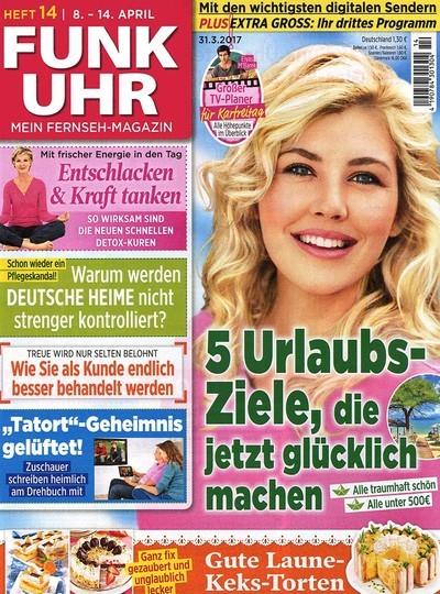 3 Monats Probeabo der Zeitschrift Funkuhr. 12 Ausgaben + 10€ Verrechnungsscheck für effektiv 1,40€