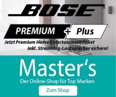 BOSE Premium Plus Deal auf Masters.de
